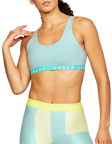 Under Armour Favourite Everyday Sports Bra-MINT-X-Small