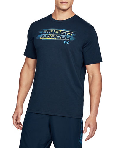 Under Armour Phase Wordmark T-Shirt-BLUE-Small 89819760_BLUE_Small