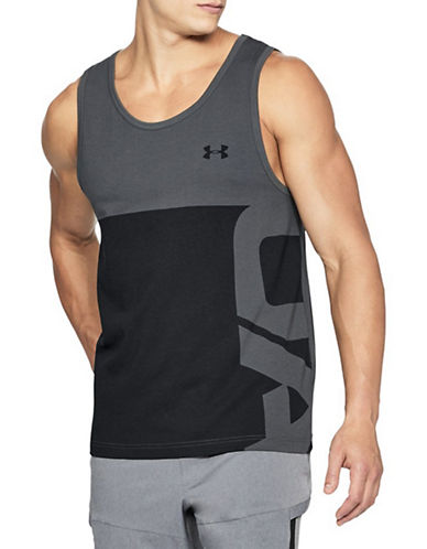 Under Armour Graphic Tank Top-GREY-X-Large 90090257_GREY_X-Large
