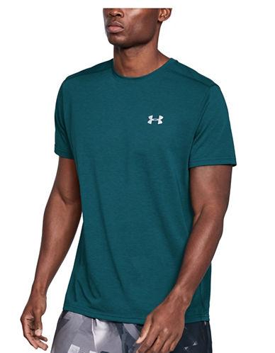 Under Armour Threadborne Streaker T-Shirt-TEAL-Medium 89948102_TEAL_Medium