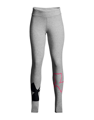 Under Armour Finale Knit Leggings-GREY-18-20
