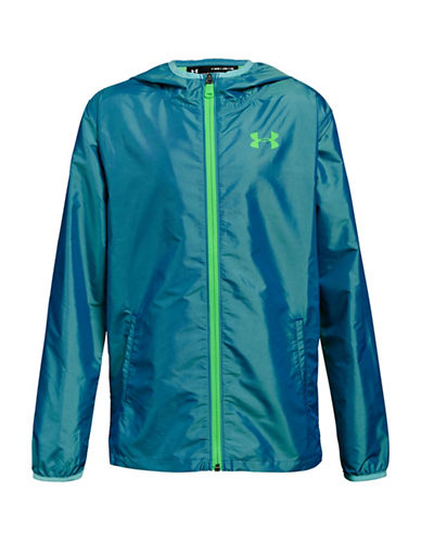 Under Armour Sack Pack Full-Zip Jacket-GREEN-7-8