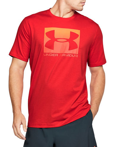 Under Armour Boxed Sportstyle T-Shirt-RED-X-Large 89819629_RED_X-Large
