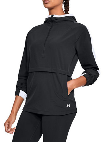 Under Armour Storm Woven Anorak-BLACK-Large