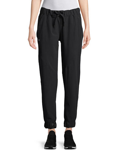 Under Armour Storm Woven Drawstring Pants-BLACK-X-Small 89741209_BLACK_X-Small
