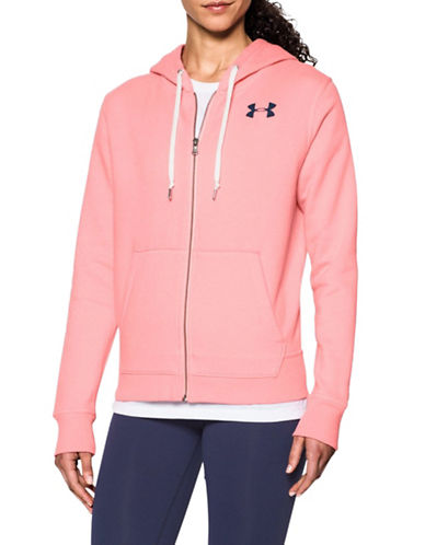 Under Armour Favourite Fleece Hoodie-CORAL-Large 89655838_CORAL_Large