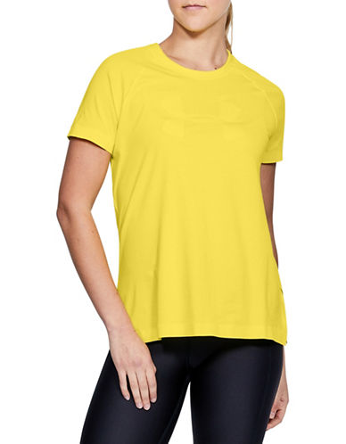 Under Armour Motivator T-Shirt-YELLOW-Small 89983194_YELLOW_Small