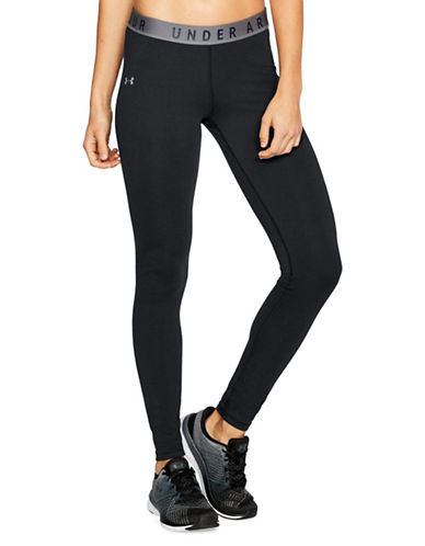 Under Armour Favourite Leggings-BLACK-Medium
