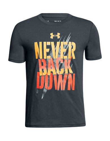 Under Armour Never Back Down T-Shirt-BLACK-X-Large 90009894_BLACK_X-Large