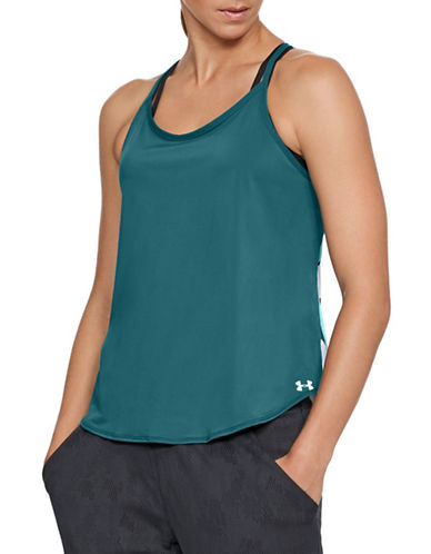 Under Armour Free Cut Strappy Tank Top-TOURMALINE-Small 90020901_TOURMALINE_Small