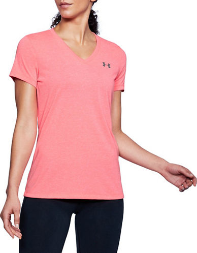 Under Armour Microthread Train Twist V-Neck Tee-BRILLIANCE-Small 90044470_BRILLIANCE_Small