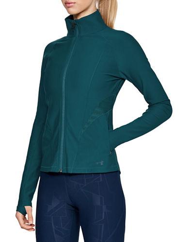 Under Armour Vanish Disrupt Mesh Full Zip Jacket-GREEN-X-Small 89983181_GREEN_X-Small