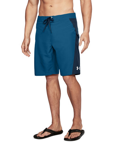 Under Armour Rigid Board Shorts-MOROCCAN BLUE-34