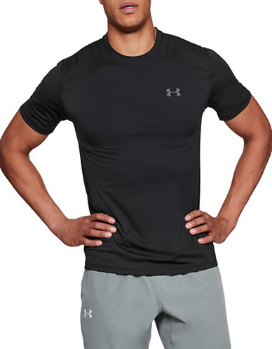 Under Armour Sunblock Short Sleeve Top-BLACK-Small 89844118_BLACK_Small