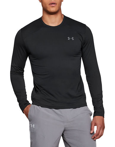 Under Armour Sunblock Long-Sleeve T-Shirt-BLACK-Small 89824684_BLACK_Small