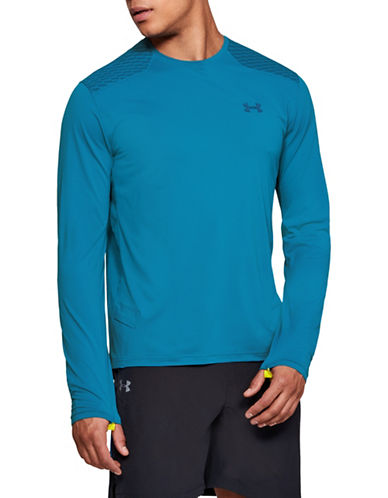 Under Armour Sunblock Long-Sleeve T-Shirt-CRUISE BLUE-Medium 89824690_CRUISE BLUE_Medium