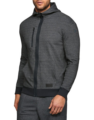 Under Armour Pursuit Full-Zip Hoodie-BLACK-Large 89948198_BLACK_Large
