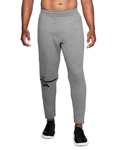 Under Armour Tech Terry Tapered Pants-GREY-Large