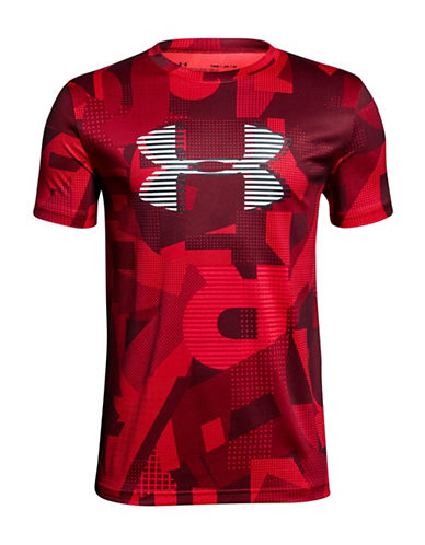 Under Armour Logo Short-Sleeve Tee-RED-Large 89939189_RED_Large