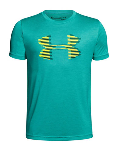 Under Armour Tech Big Logo Tee-GREEN-Medium 90009852_GREEN_Medium