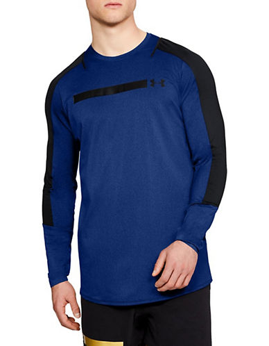 Under Armour Perpetual Fitted Top-BLUE-Large 90090296_BLUE_Large