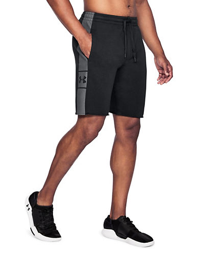 Under Armour EZ Knit Shorts-BLACK-Large 90090331_BLACK_Large