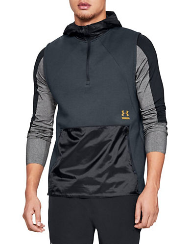 Under Armour Perpetual Reactor Sleeveless Hoodie-BLACK-Large 90033993_BLACK_Large