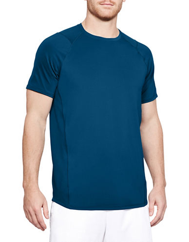 Under Armour Raid Short-Sleeve T-Shirt-MOROCCAN BLUE-Medium