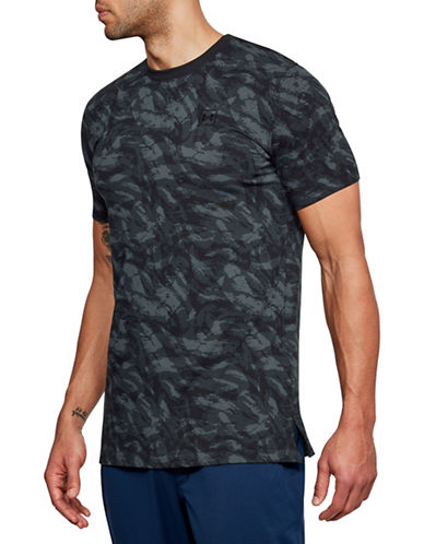 Under Armour Sportstyle Printed T-Shirt-BLACK-Medium 89948162_BLACK_Medium