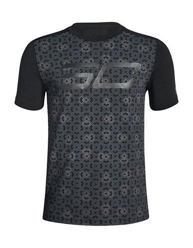 Under Armour Short-Sleeve Graphic T-Shirt-BLACK-Medium 89939214_BLACK_Medium