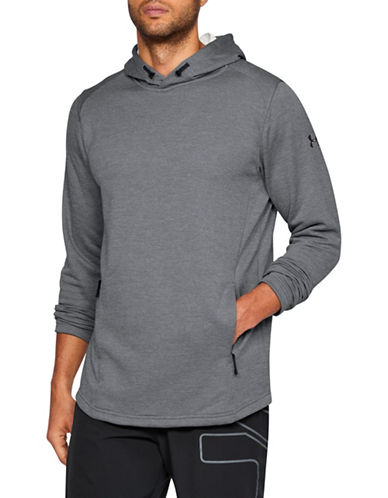 Under Armour Tech Terry Popover Hoodie-GREY-X-Large 89819793_GREY_X-Large