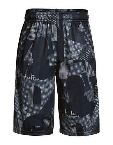 Under Armour Instinct Printed Shorts-BLACK-Large 90009871_BLACK_Large