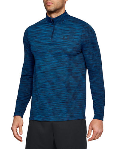 Under Armour Threadborne Seamless T-Shirt-MOROCCAN BLUE-X-Large 89948154_MOROCCAN BLUE_X-Large