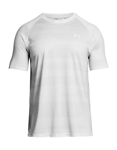 Under Armour Tech Printed T-Shirt-WHITE-Medium 89948069_WHITE_Medium