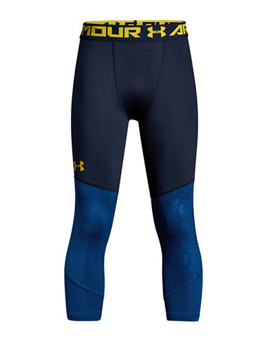 Under Armour Colourblock Logo Leggings-NAVY BLUE-Large 89939229_NAVY BLUE_Large