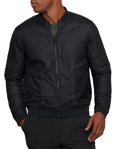 Under Armour ColdGear Reactor Bomber Jacket-BLACK-Small 89819691_BLACK_Small