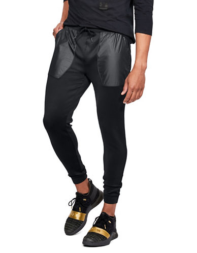 Under Armour Utility Joggers Pants-BLACK-Small