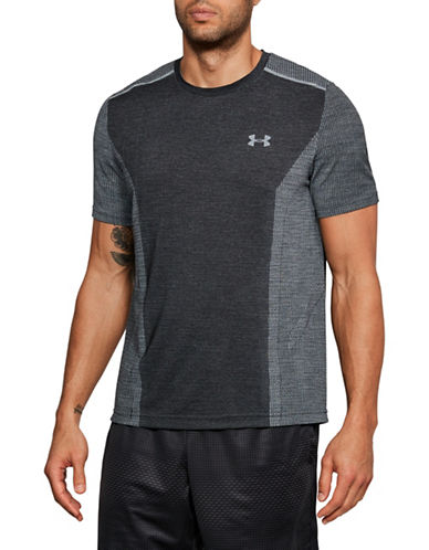 Under Armour Threadborne Seamless T-Shirt-GREY-Small 89948131_GREY_Small