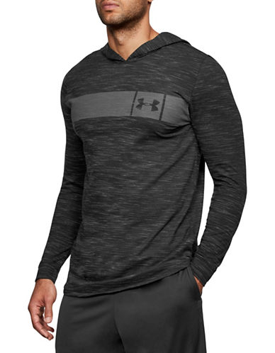 Under Armour Sportstyle Core Hoodie-BLACK-Large