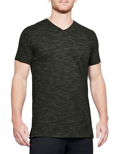 Under Armour Sportstyle Core V-Neck Tee-ARTILLERY GREEN-Medium 90034068_ARTILLERY GREEN_Medium