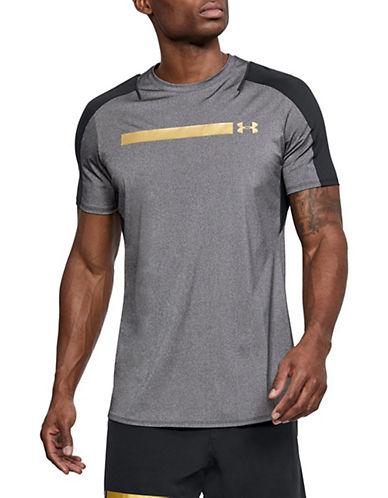 Under Armour Perpetual Short Sleeve Fitted Tee-BLACK-Small 90033996_BLACK_Small