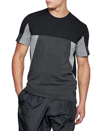Under Armour Colourblock T-Shirt-BLACK/GREY-X-Large 90090387_BLACK/GREY_X-Large