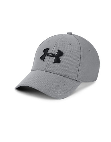 Under Armour Blitzing Logo Cap-WHITE-Medium/Large 89983309_WHITE_Medium/Large