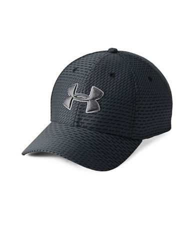 Under Armour Printed Blitzing Cap-BLACK-Large/X-Large 90012846_BLACK_Large/X-Large
