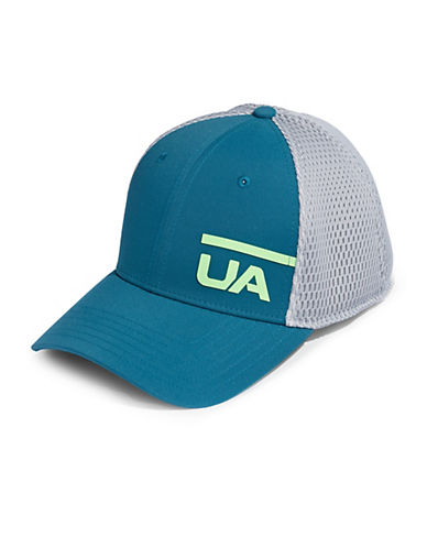 Under Armour Train Spacer Mesh Baseball Cap-TEAL-Large/X-Large 90012864_TEAL_Large/X-Large