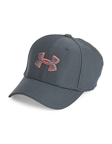 Under Armour Blitzing Baseball Cap-STEALTH GRAY-Small/Medium 89822450_STEALTH GRAY_Small/Medium