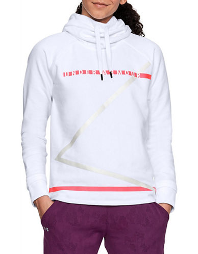 Under Armour Microthread Fleece Hoodie-WHITE-Small 90044595_WHITE_Small