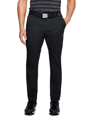Under Armour Showdown Tapered Pants-BLACK-38X32