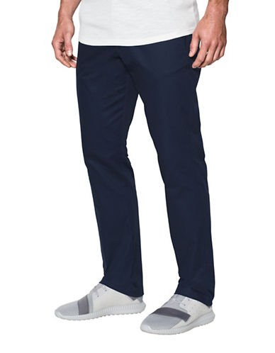 Under Armour Performance Chino Pants-BLUE-40X32