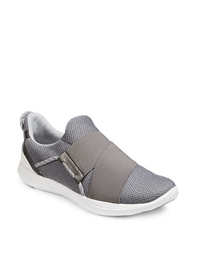 Under Armour Precision X Sneakers-GREY/WHITE-7.5